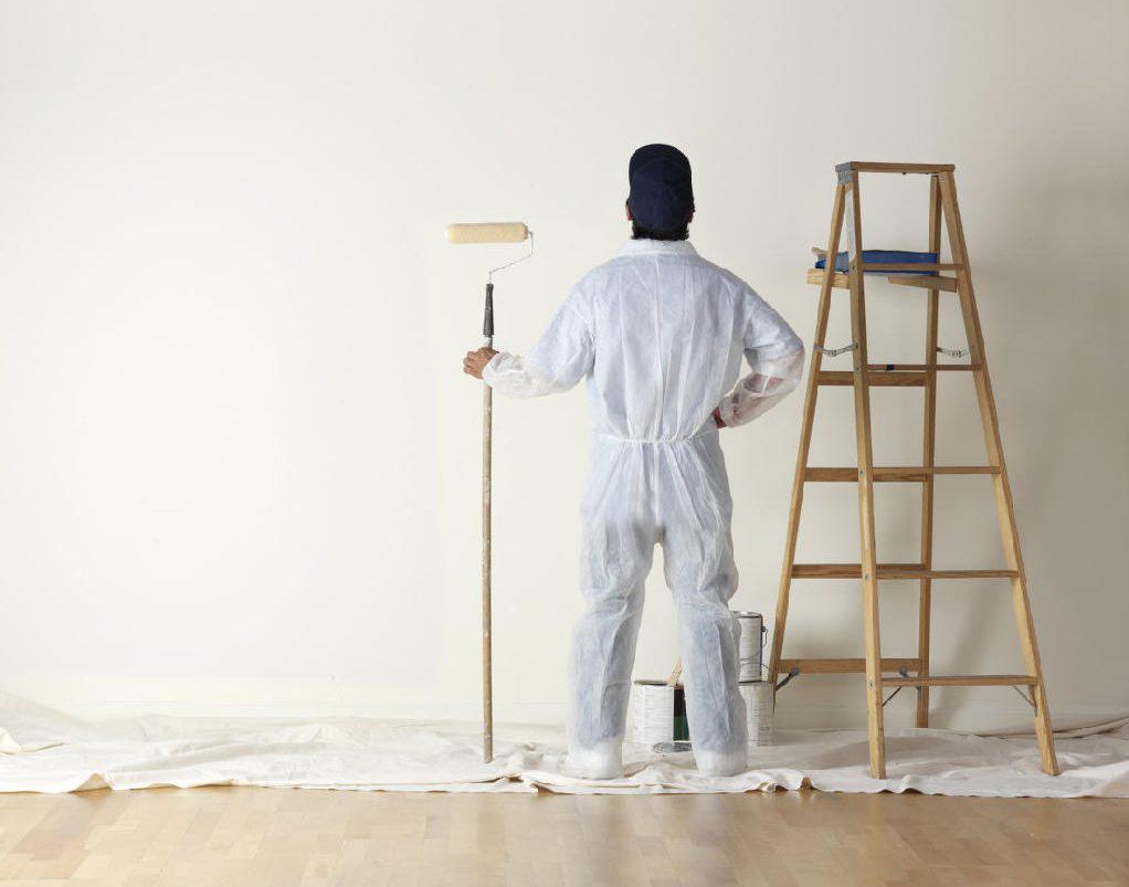quá trình sơn nhà