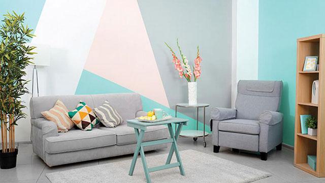 Phối màu sơn phòng khách