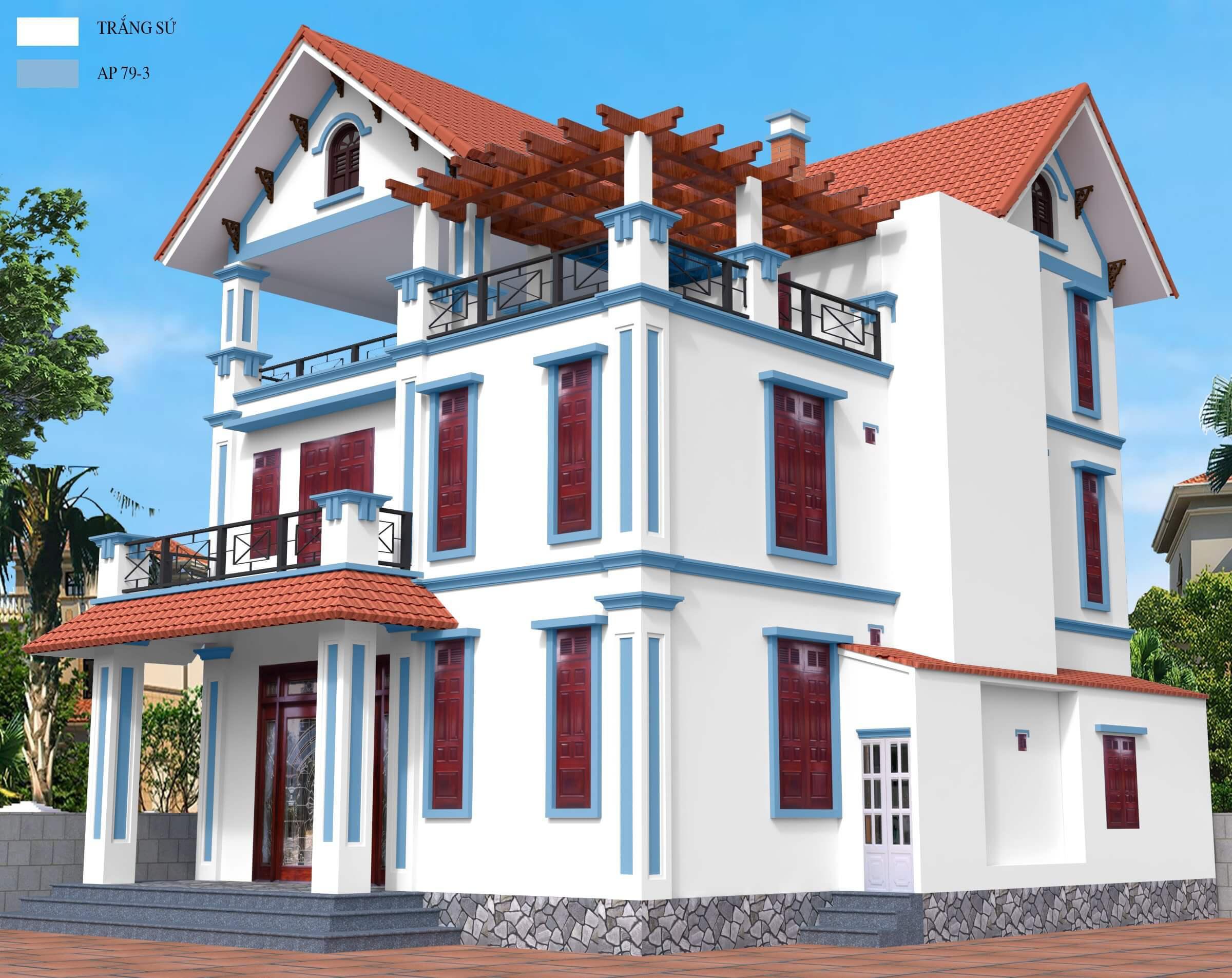 kỹ thuật sơn nhà