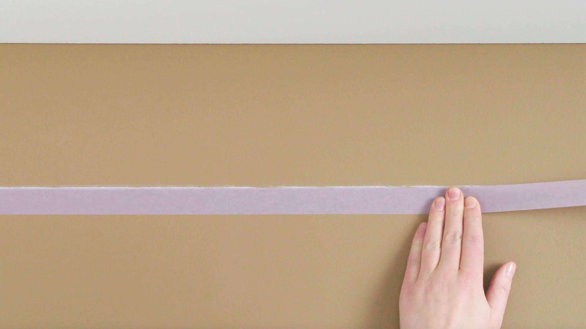 Phối màu sơn tường kẻ sọc đẹp