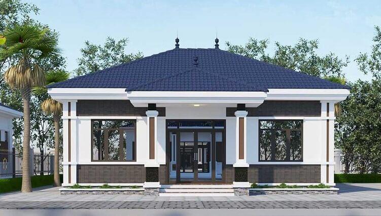 phong cách sơn nhà