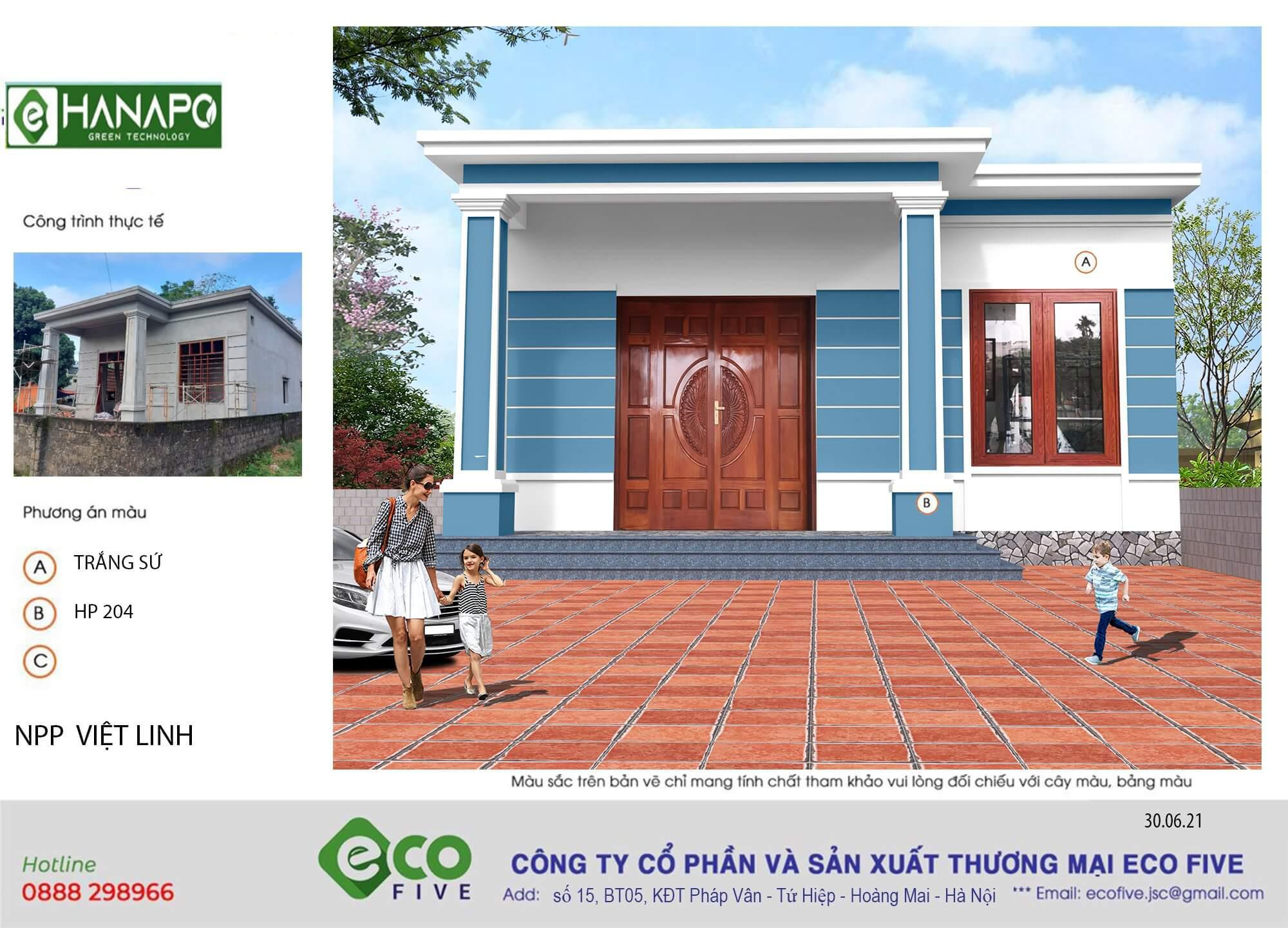 sơn nhà chống bám bụi